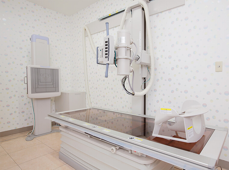 骨粗鬆症の検査(骨塩定量計測DIP法)